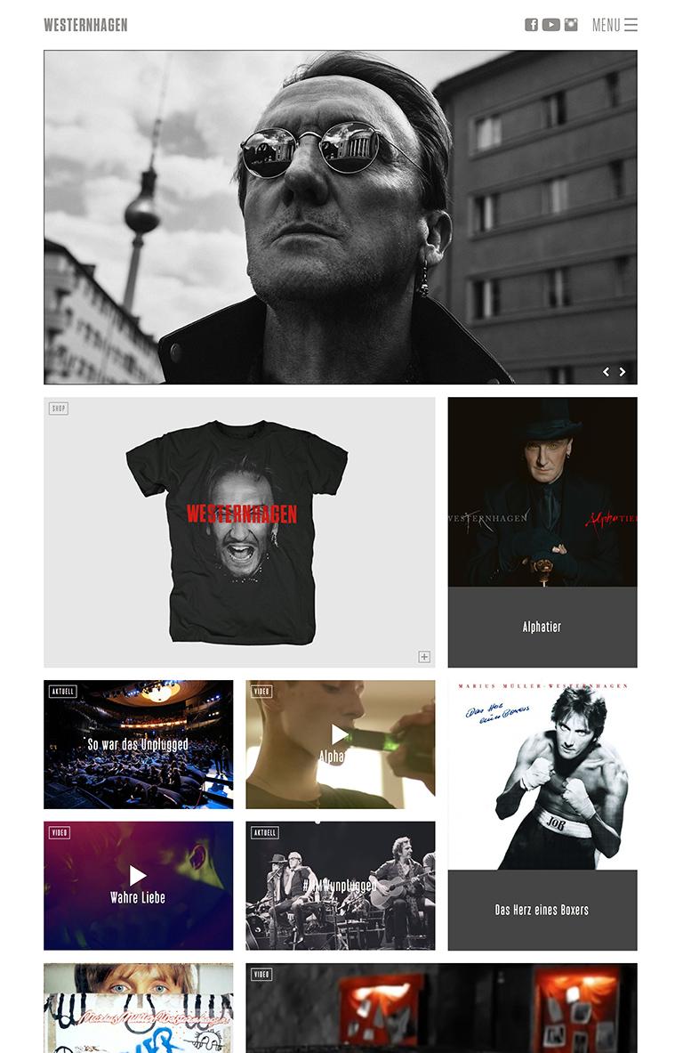 www.westernhagen.de - Screenshot - Individolé