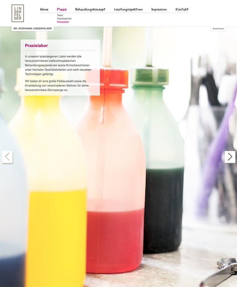 www.stephanie-lingenfelder.de - Screenshot - Individolé